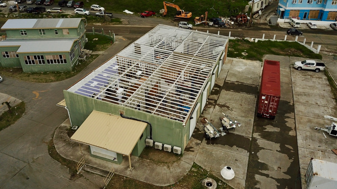 R & R Maloe Complex Damage After Hurricanes Irma and Maria