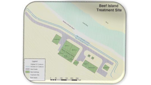 Beef Island Treatment Site designed by Caribbean Basin Enterprises