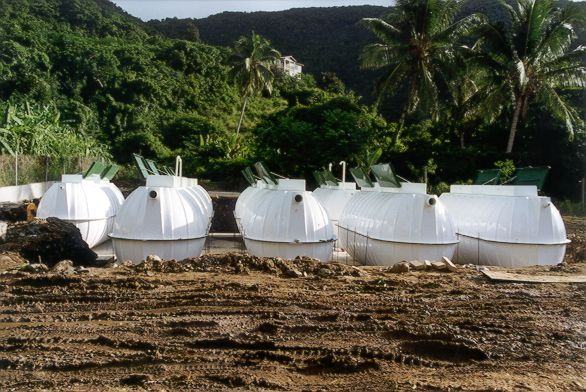 Additional Pumps installed at Cane Garden Bay by Caribbean Basin Enterprises