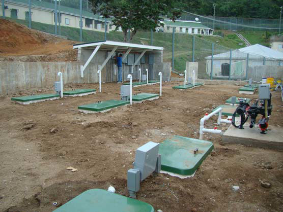 Additional construction at hm prison in the British Virgin Islands