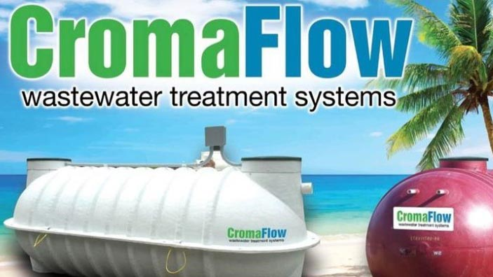 Cromaflow Wasterwater Treatment Systems sold at Caribbean Basin Enterprises