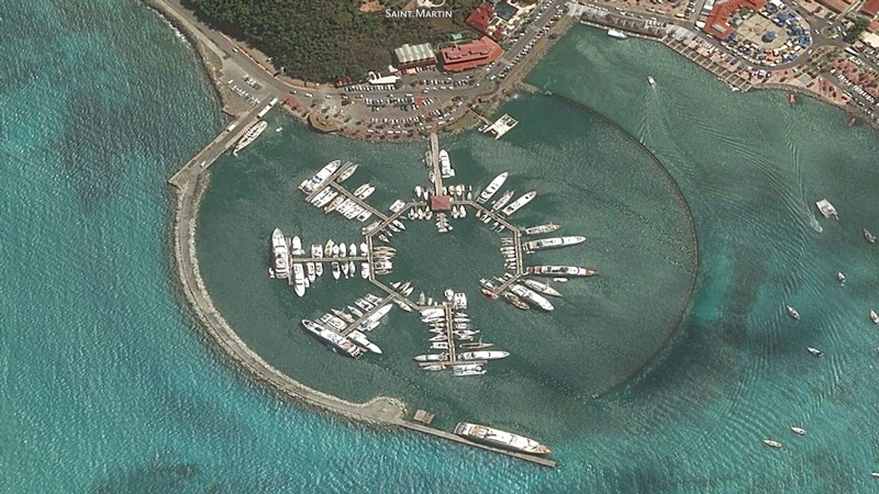 Marina Fort Louis in Marigot with Caribbean Basin Enterprises