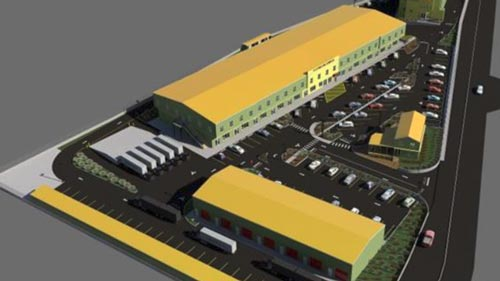 Drawings of R&R Complex in the British Virgin Islands designed by Caribbean Basin Enterprises