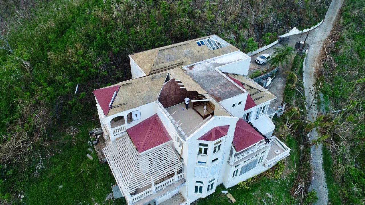 private property reconstruction tortola bvi