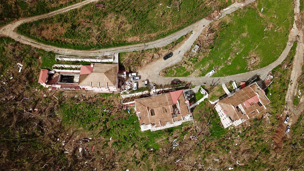 Admiralty Estate Complex bvi roof damage